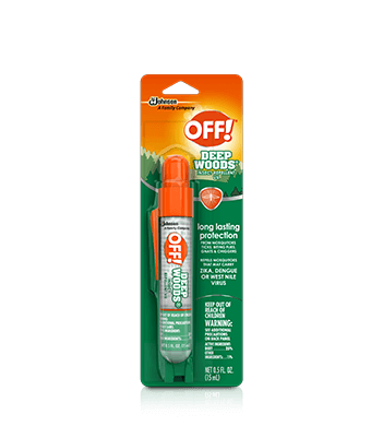 OFF!® Deep Woods® Insect Repellent VII Mini Pump Spray