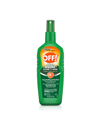 OFF! Deep Woods® Sportsmen Insect Repellent III