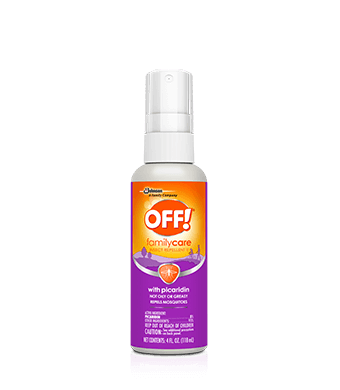 Repelente de insectos OFF!® FamilyCare II con picaridin