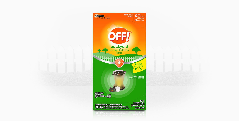 OFF!® Mosquito Lamp I Refills