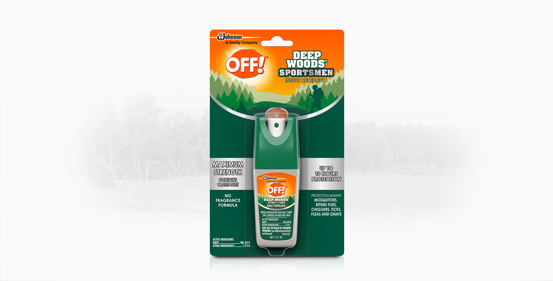 OFF! Deep Woods® Sportsmen Insect Repellent I