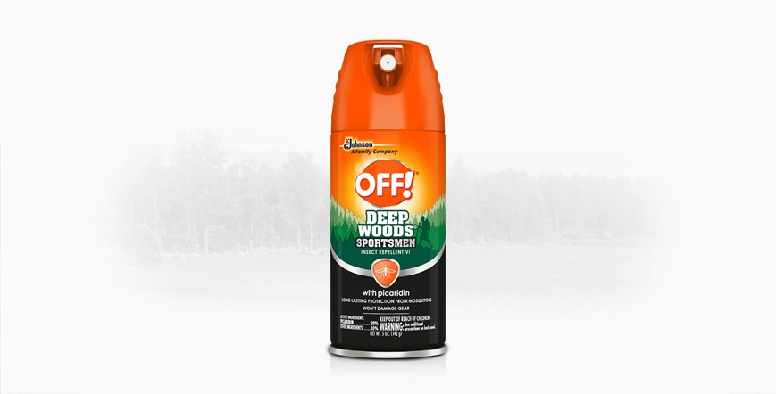 OFF! Deep Woods® Sportsmen Insect Repellent VI with Picaridin  Aerosol