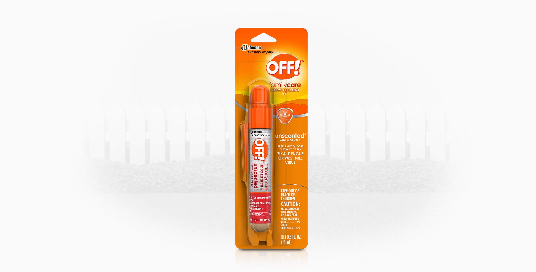 OFF!® FamilyCare Insect Repellent IV Mini Pump Spray