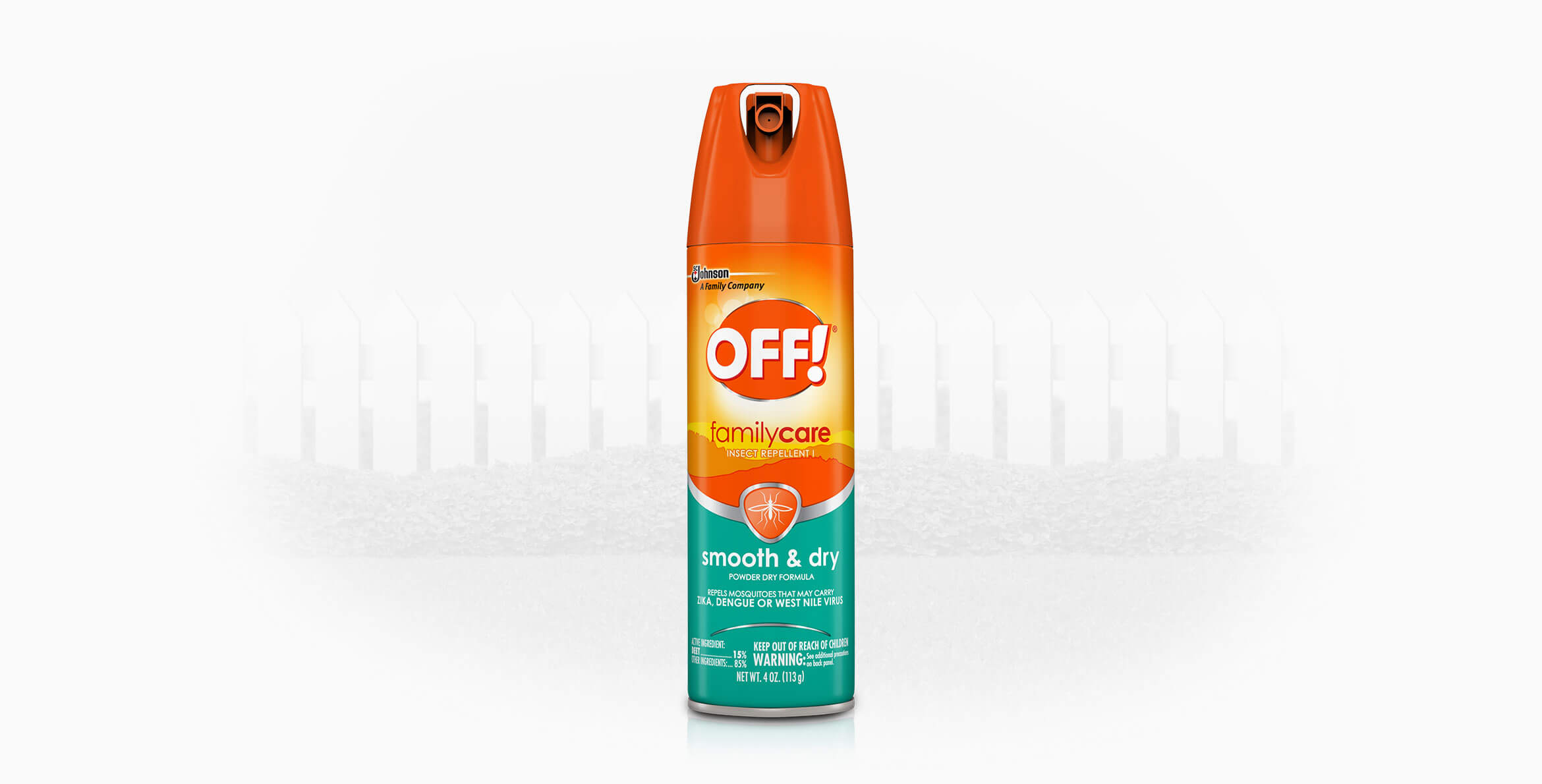 OFF!® FamilyCare Insect Repellent I (Smooth & Dry)