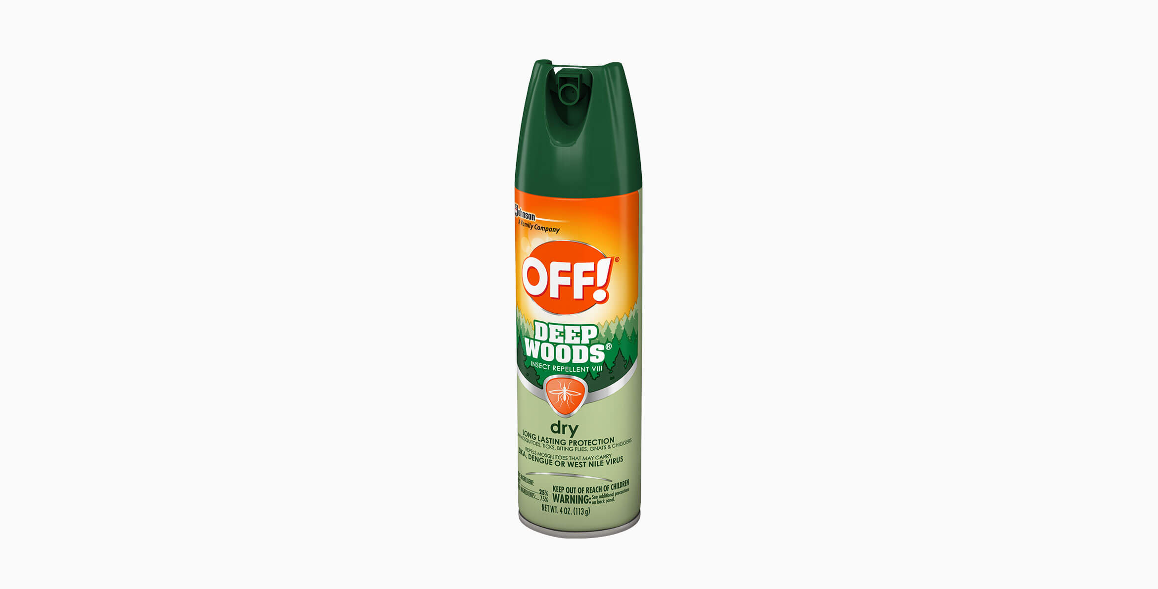 OFF!® Deep Woods® Insect Repellent VIII (Dry)