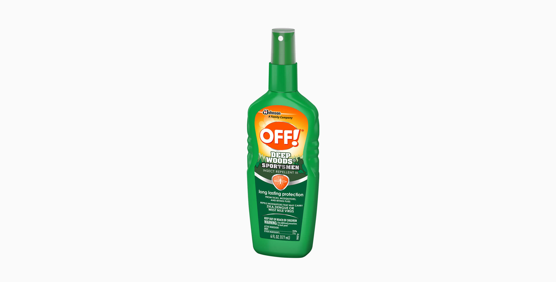 OFF! Deep Woods® Sportsmen Insect Repellent III