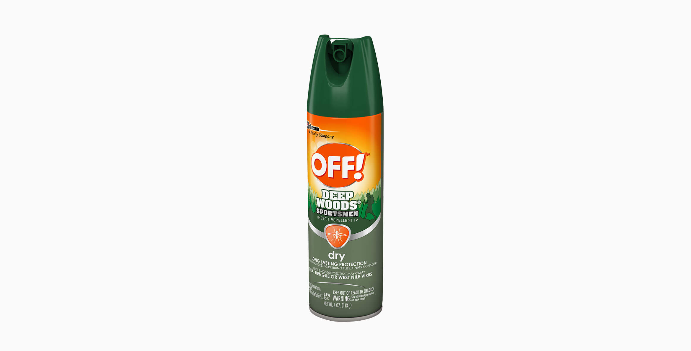 OFF!® Sportsmen Deep Woods® Dry Insect Repellent 5