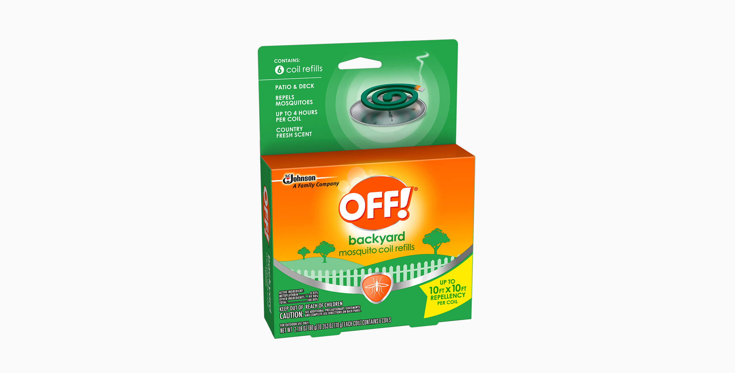OFF!® Mosquito Coil Refills