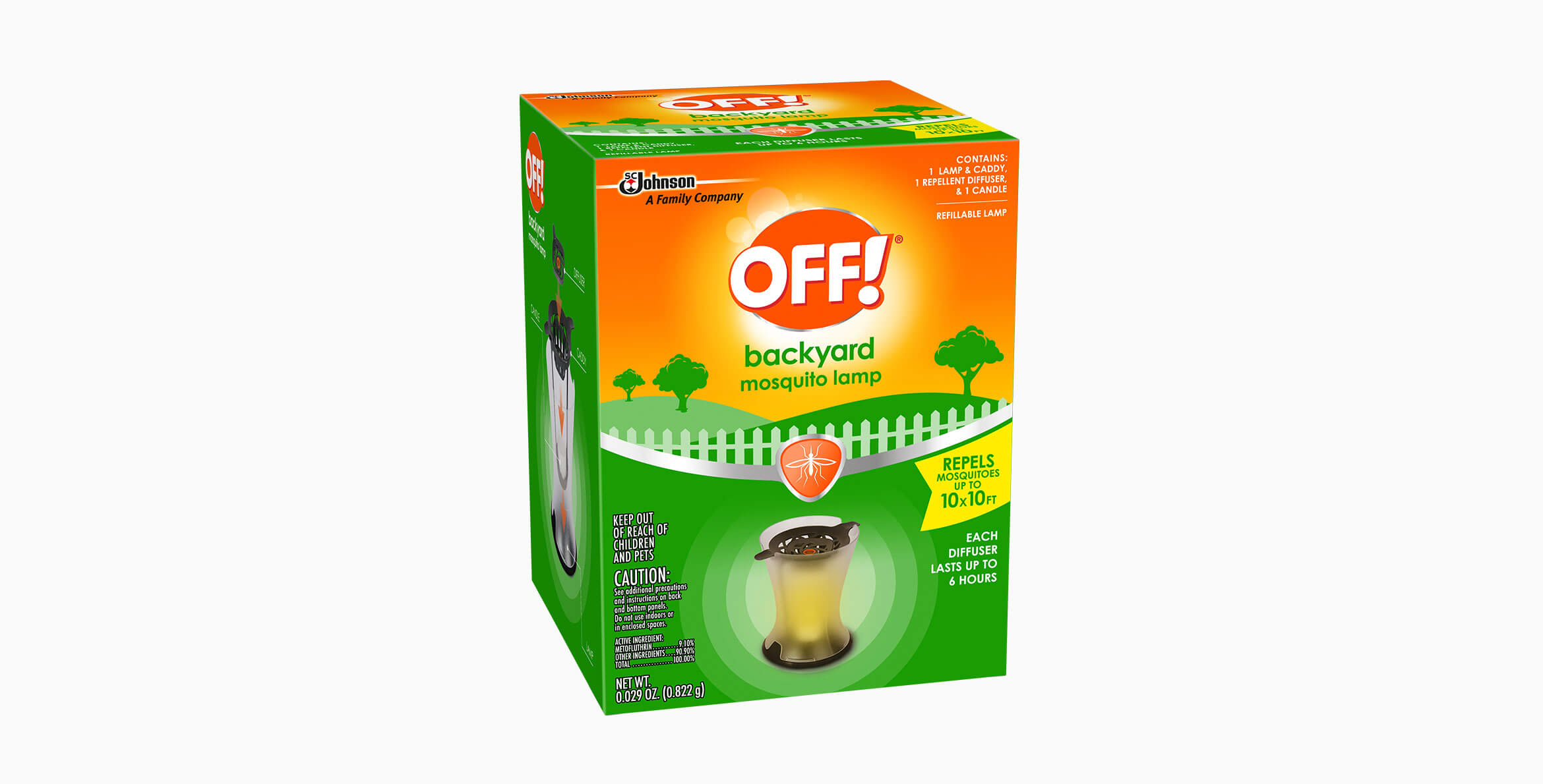 Off Mosquito Lamp I Repellent