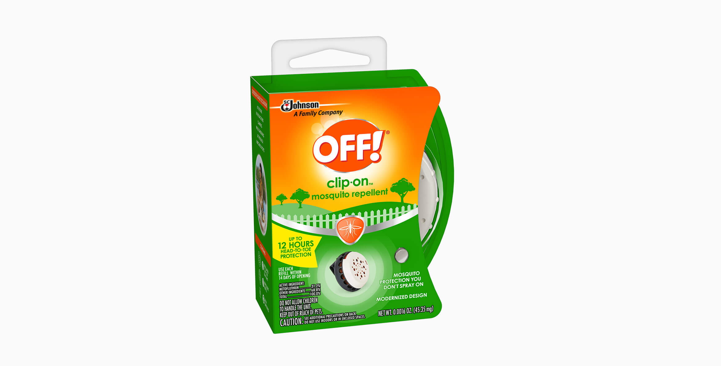 Off 174 Clip On Mosquito Repellent Off 174 Repellent
