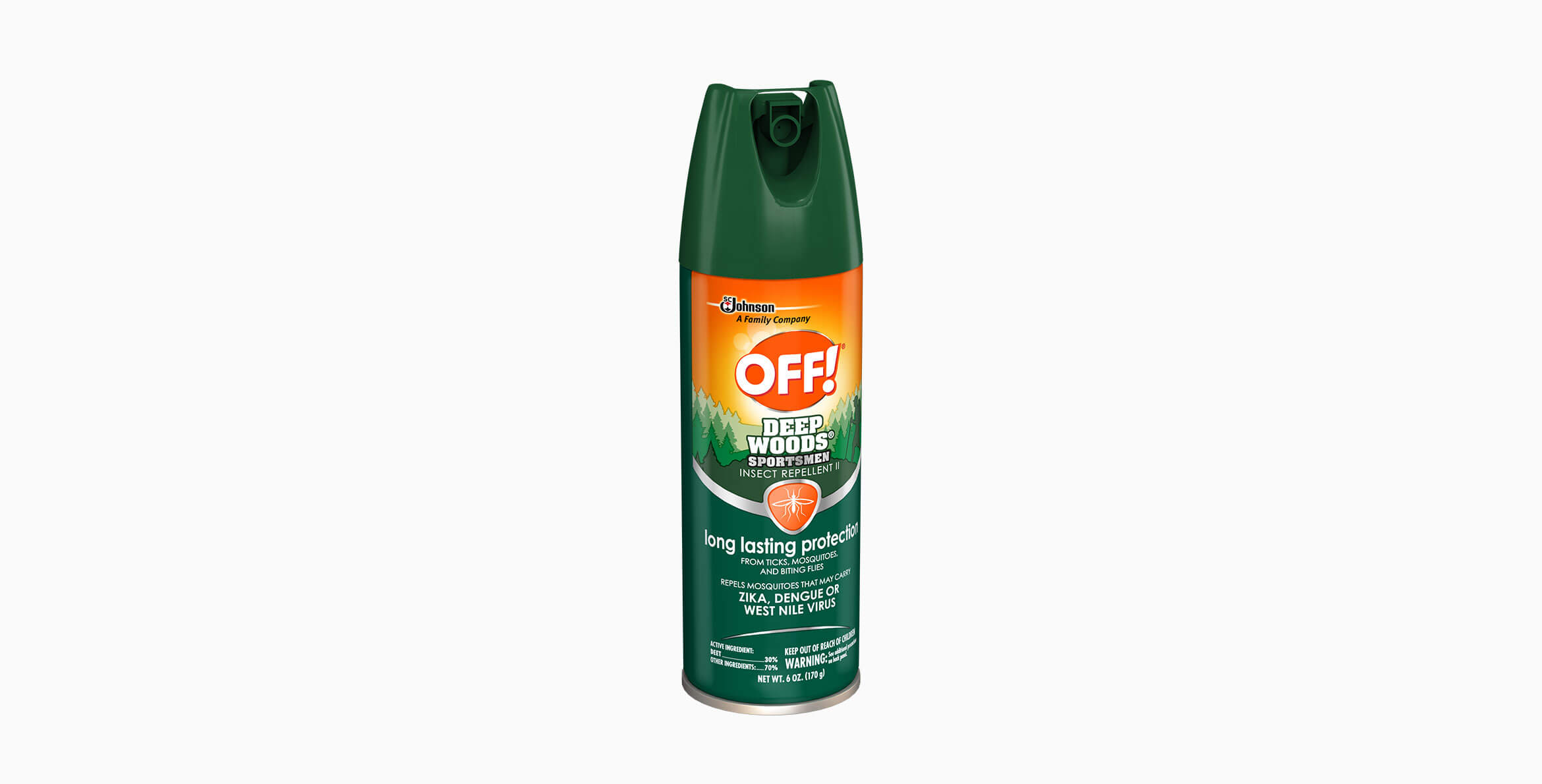 OFF!® Deep Woods® Sportsmen Insect Repellent II