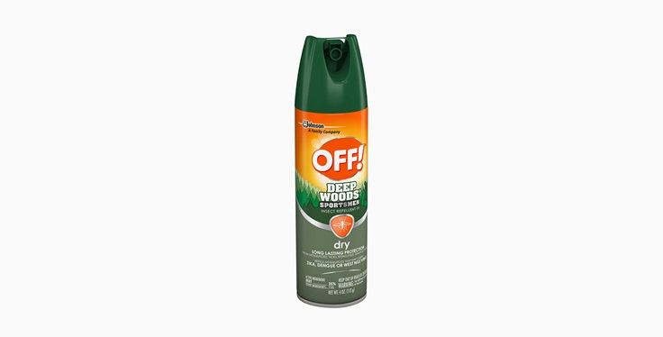 OFF!® Deep Woods® Sportsmen Insect Repellent IV (Dry)