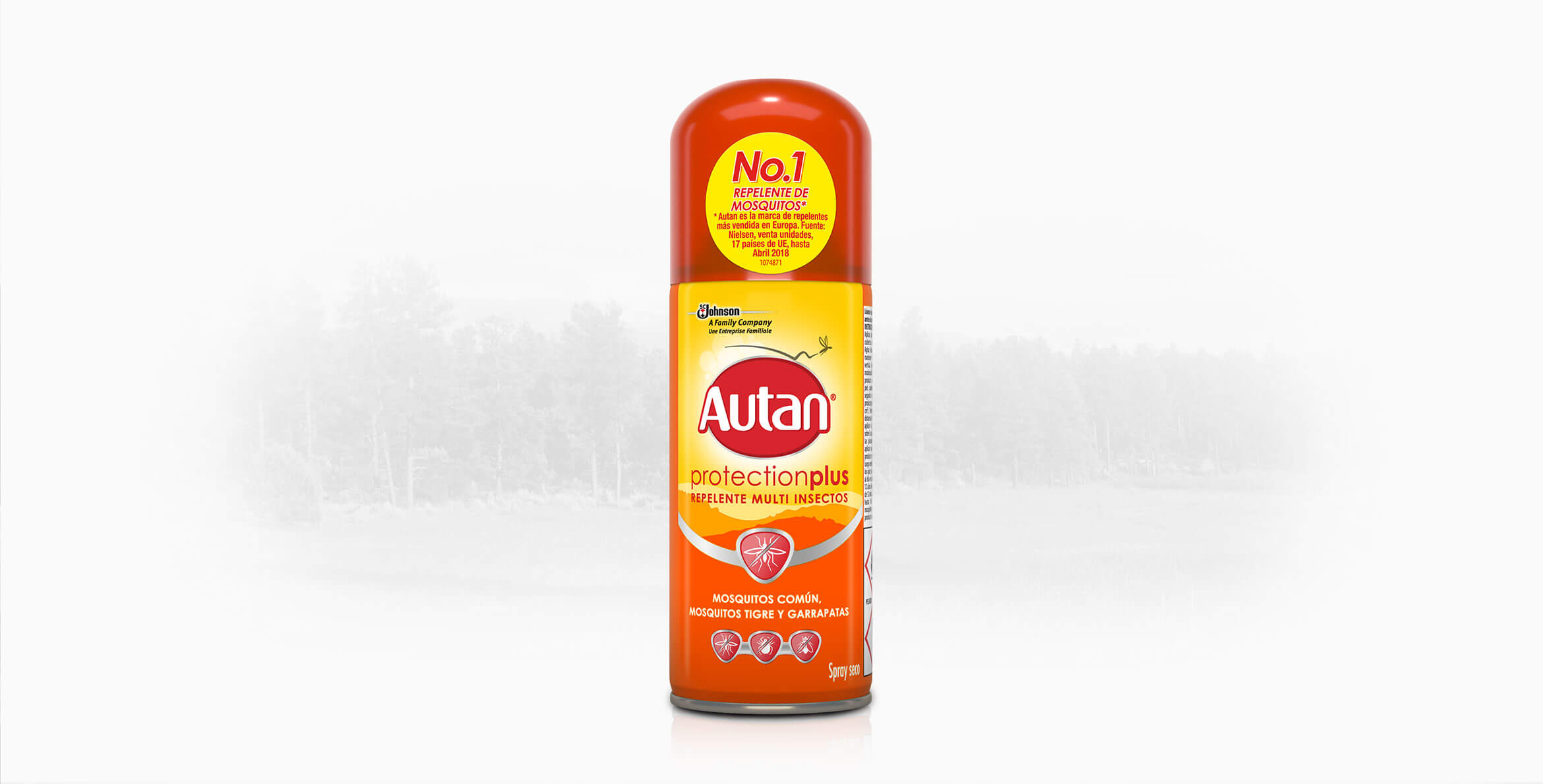Autan® Protection Plus Spray Seco