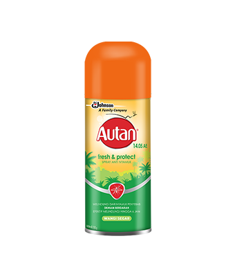 Autan Fresh & Protect Spray Aerosol Antinyamuk