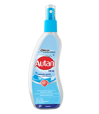 Autan Refresh Spritz  Spray Cair Antinyamuk