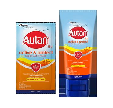 Autan Active & Protect Losion Anti Nyamuk