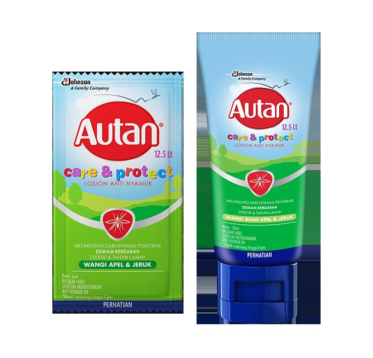 Autan Care & Protect Losion Anti Nyamuk