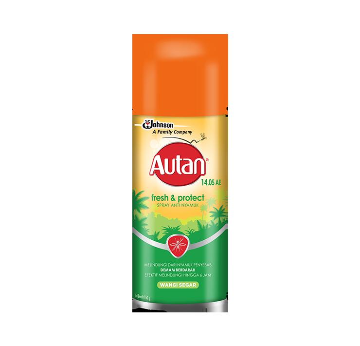 Autan Fresh & Protect Spray Anti Nyamuk