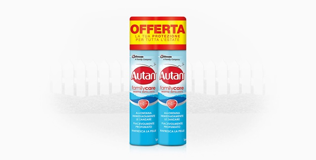Autan® Family Care Spray Bipack