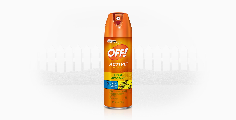 Repelente OFF!® Active Aerosol