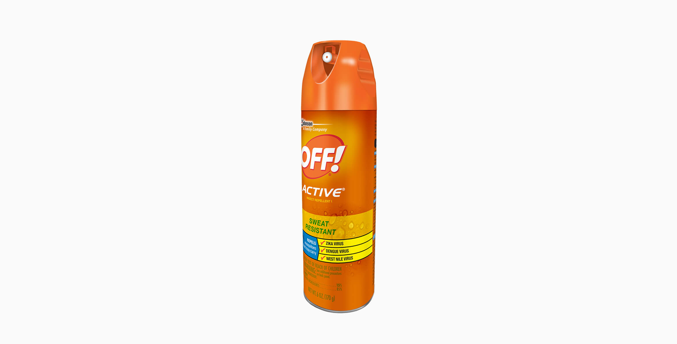 Repelente OFF!® Active Aerosol