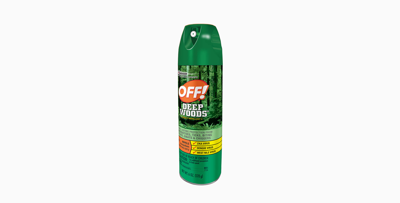 Repelente OFF!® Deep Woods Aerosol