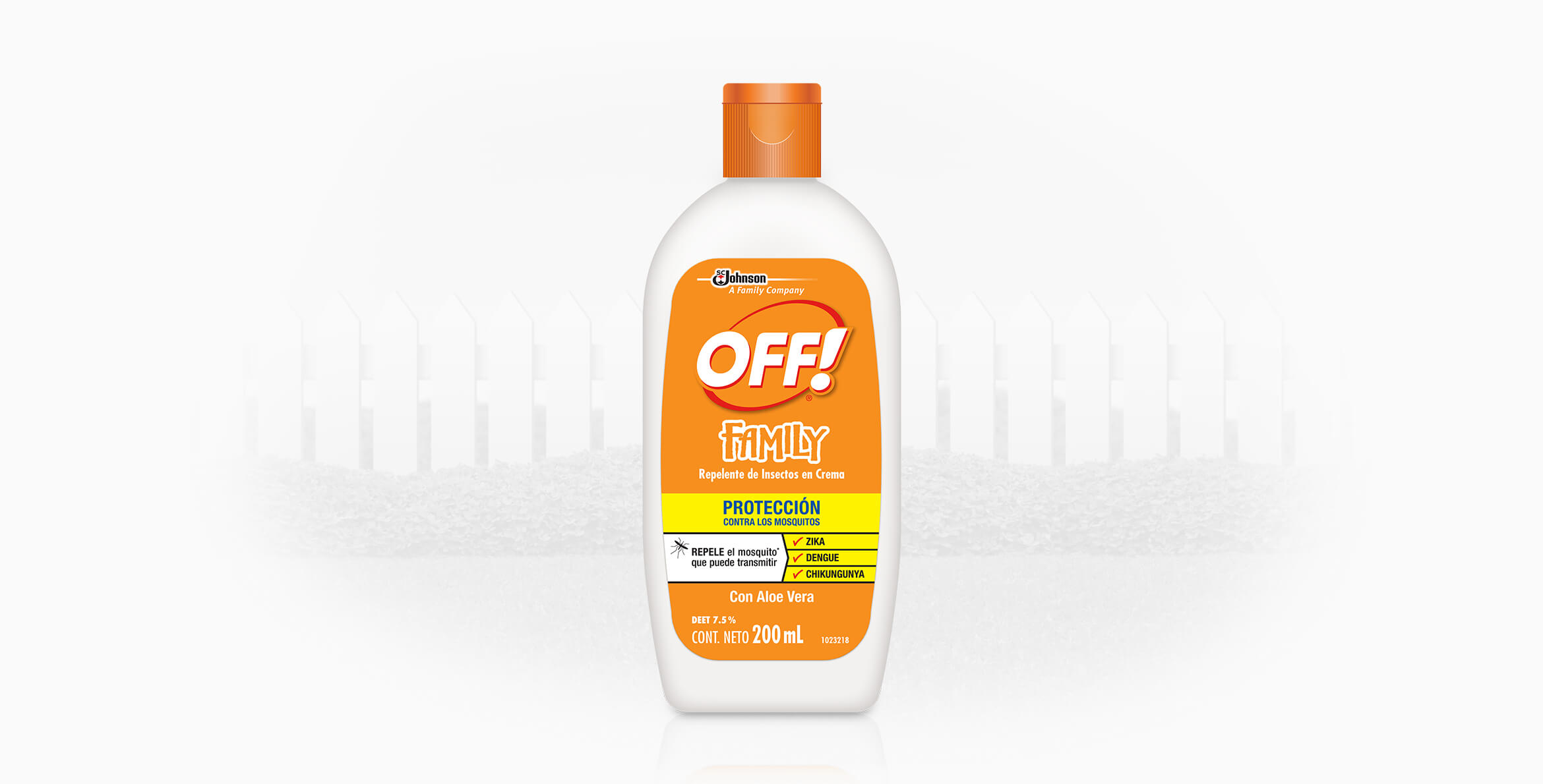 Repelente OFF!® Family Crema