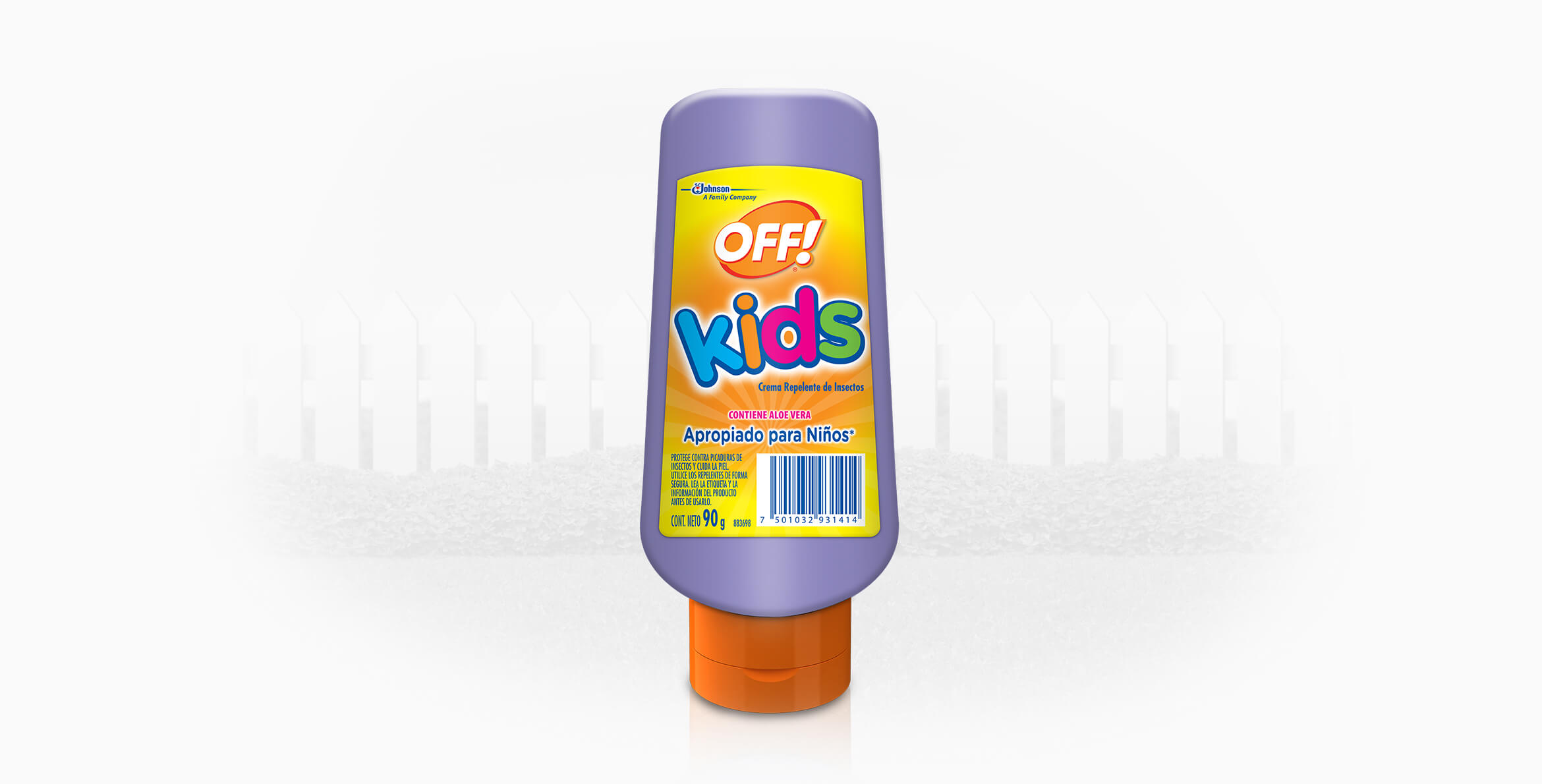 Repelente OFF!® Kids crema