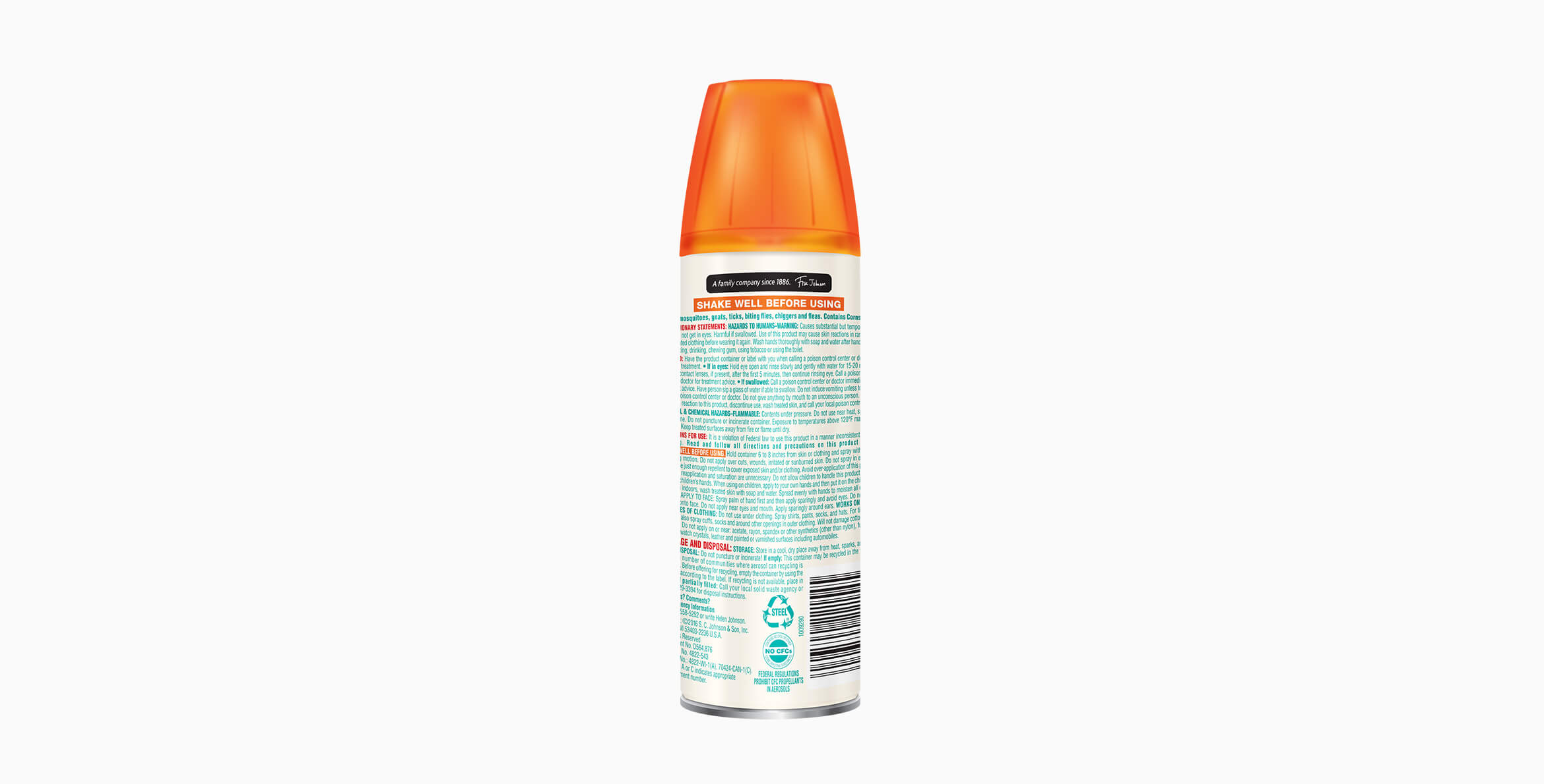 Repelente OFF!® Smooth & Dry Aerosol
