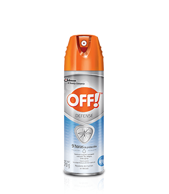 Repelente OFF!® Defense Repelente De Insectos En Aerosol 170g