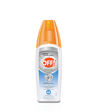 OFF!® Defense Repelente Líquido Con Atomizador 177 mL