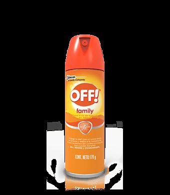 OFF!® Family Repelente De Insectos En Aerosol 170g