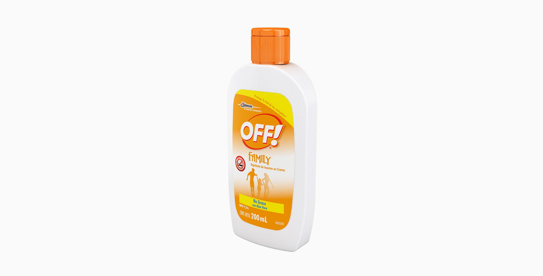OFF!® Family Repelente De Insectos En Crema 200g
