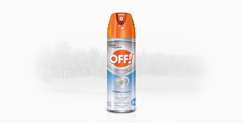 Repelente OFF!® Defense Repelente De Insectos En Aerosol 170g