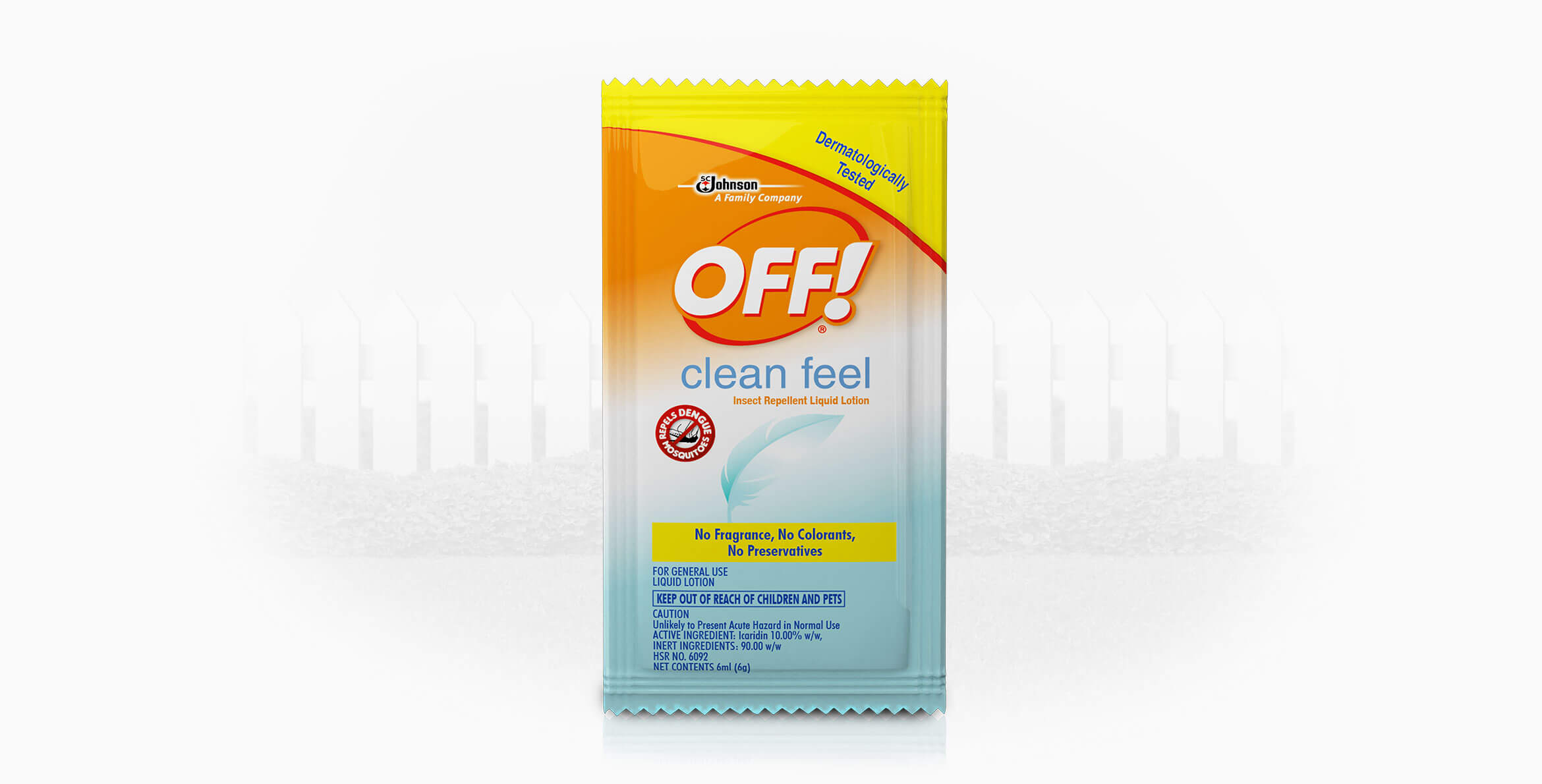 OFF!® Clean Feel Insect Repellent Lotion