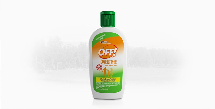 OFF!® Overtime Insect Repellent Lotion