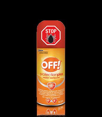 OFF!® Protection Plus suchy aerozol