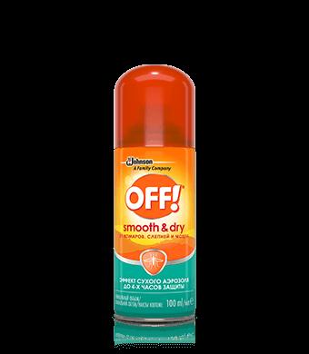 OFF!® Smooth & Dry Аэрозоль