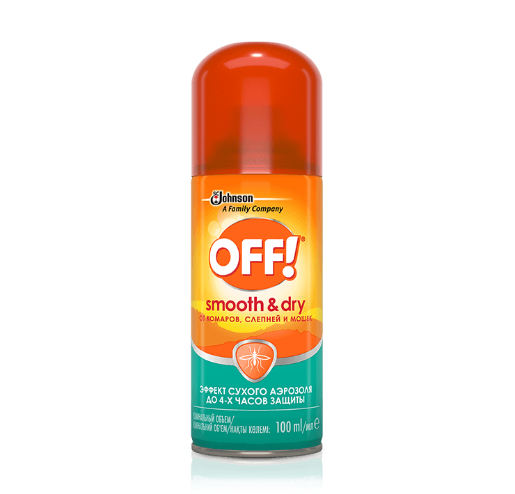 OFF!® Smooth & Dry