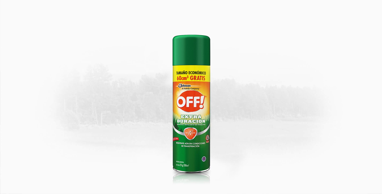 OFF!® Extra Duración Aerosol 300 ml